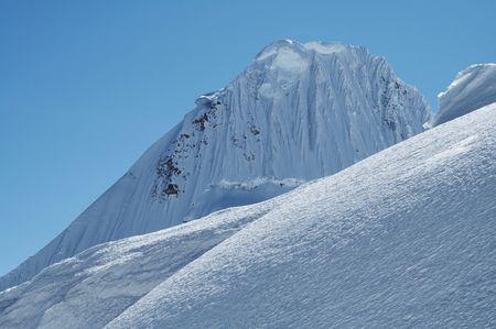 Beautiful mountain Alpamayo Peru
