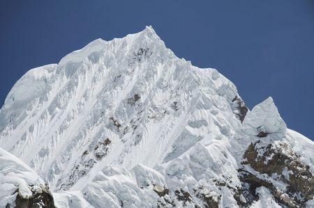 Beautiful mountain Alpamayo photo
