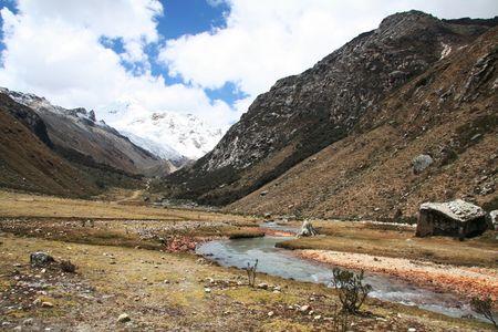 Beautiful river in Cordilleras mountain Stock Photo - 592222