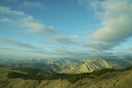 crimea: Crimea mountain of autumn morning Stock Photo