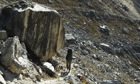 Going mountaineer on Ishinca trek photo