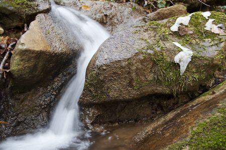 Beautiful small waterfull Stock Photo - 691249