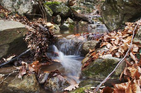 Beautiful small waterfull Stock Photo - 691209