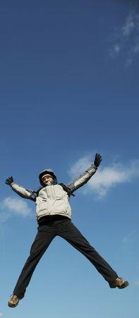 Jumping man Stock Photo - 800603