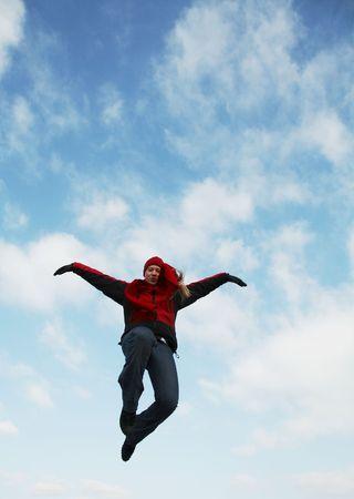 Jumping girl Stock Photo - 800604