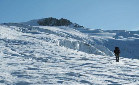 The climb in Cordilleras photo