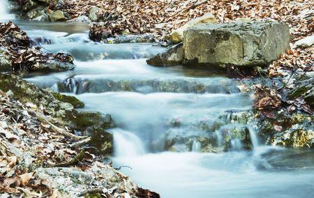 Waterfall cascade photo
