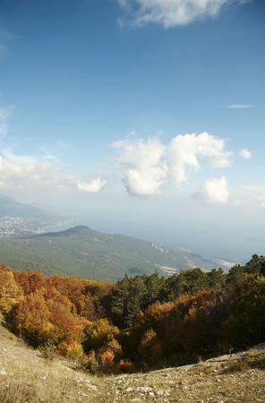 Crimean mountain in autumn season Stock Photo - 817446