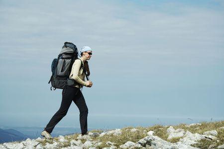 Trekking in the Crimea Stock Photo - 867982