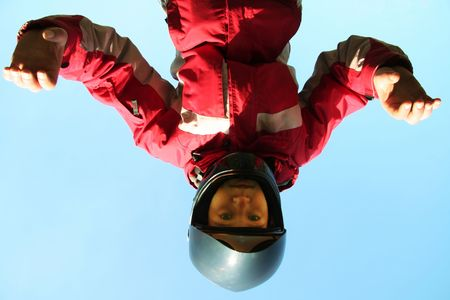 skydive: Skydiver a trening