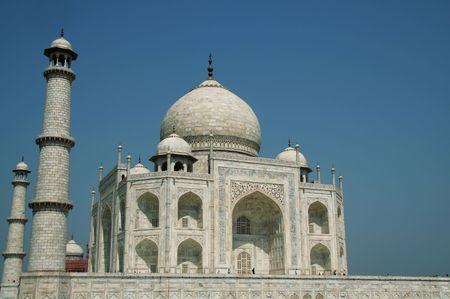 Taj Mahal palace in India Stock Photo - 928873