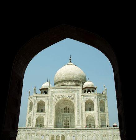 Taj Mahal palace in India photo