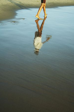 Beach on the Indian ocean Stock Photo - 942140