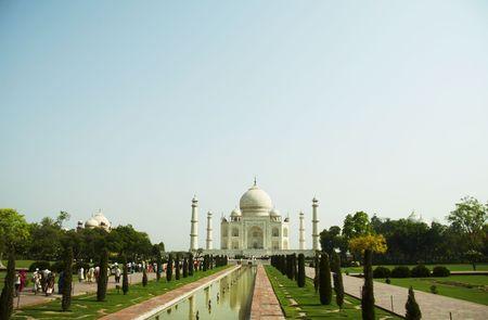 Taj Mahal palace in India Stock Photo - 942148
