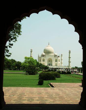 Taj Mahal palace in Agra,India Stock Photo - 948456