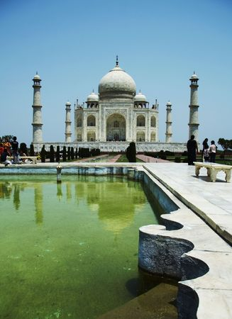 Taj Mahal decor Stock Photo - 948457