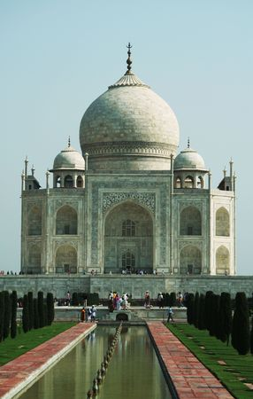 mumtaz: Taj Mahal palace in Agra,India