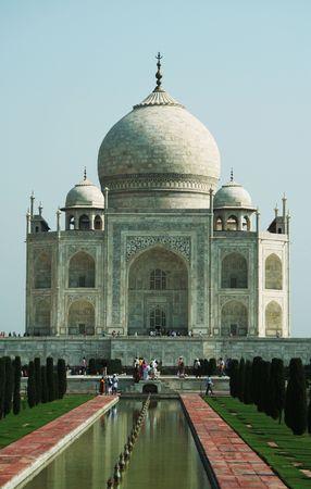 Taj Mahal palace in Agra,India Stock Photo - 948485