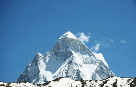 Shivling peak in India photo