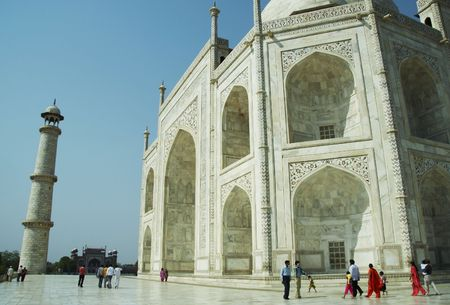 Taj Mahal palace in India Stock Photo - 951241