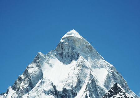 shivling: Shivling peak in India