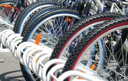 holidays vacancy: bikes parked