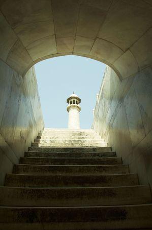 Taj Mahal construction Stock Photo - 1010781