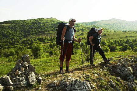 an overview: Men overview landscapes