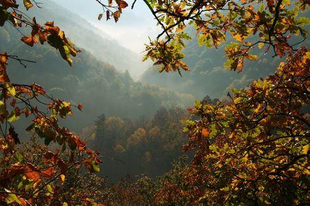 Crimean mountain in autumn season Stock Photo - 1134885
