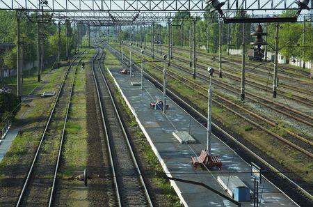 Railways scenery Stock Photo - 1164753