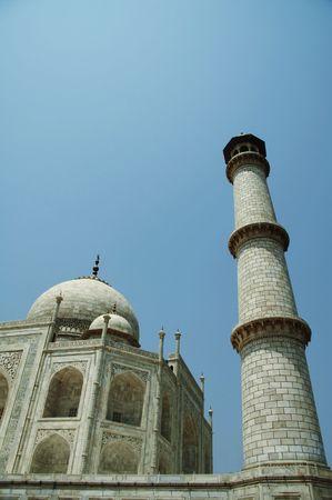 Taj Mahal palace in India Stock Photo - 1282172