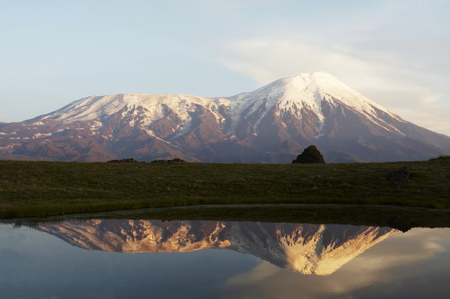 Mount Tolbachik on Kamchatka photo