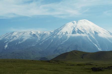 Volcano Tolbachik on Kamchatka photo
