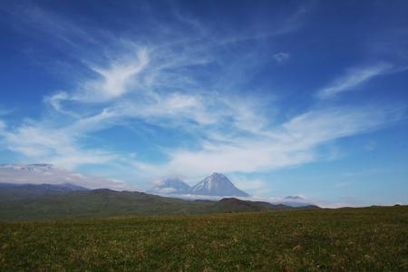 kamchatka: Volcano Klushevskoj on Kamchatka
