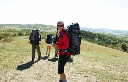 People in hike Stock Photo - 1830149