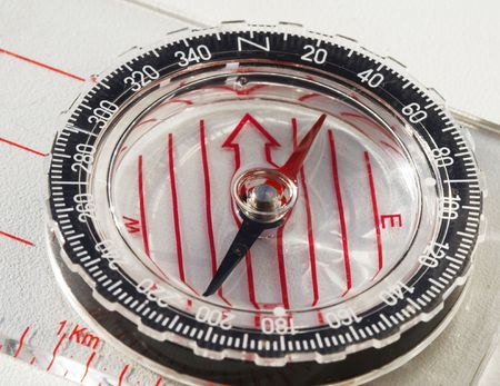 orienting: Compass