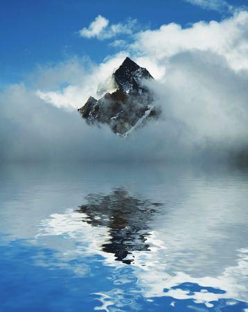 Himalayan mountain Stok Fotoğraf
