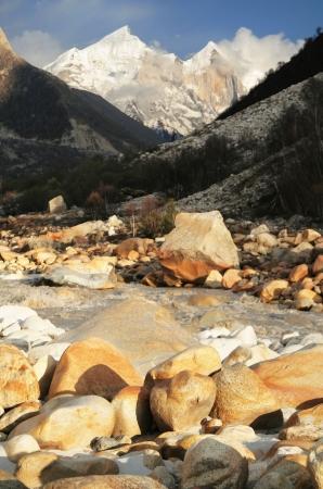 sacred source: Sourse of Ganga in India