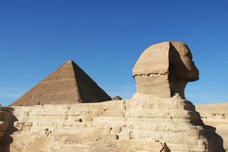 Egyptian sphinx Stock Photo - 2247065