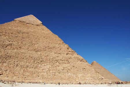 Egyptian pyramid  Stock Photo - 2256755