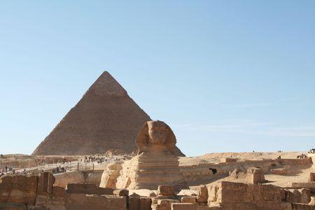 Egyptian sphinx Stock Photo - 2256722