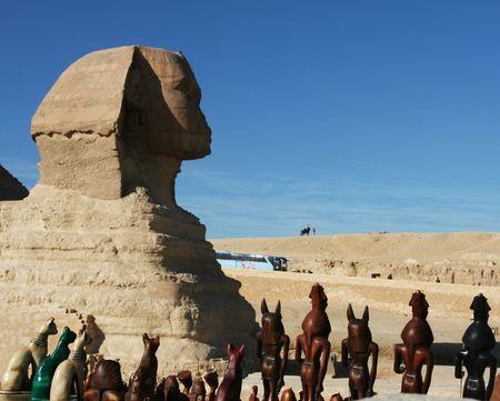 Egyptian sphinx Stock Photo - 2256728