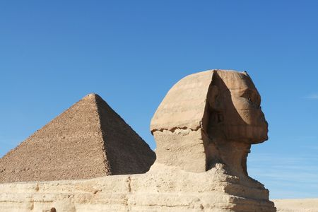 Egyptian sphinx Stock Photo - 2268926