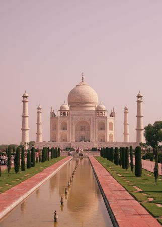 Taj Mahal construction Stock Photo - 2268979