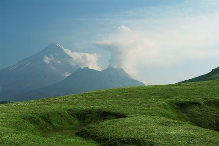 kamchatka: Vulcano su Kamchatka