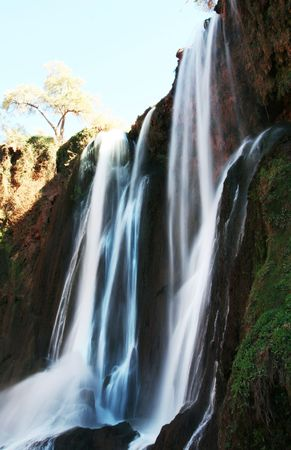 wil: Waterfall in Morocco, Africa - Cascadd Ouzud.
