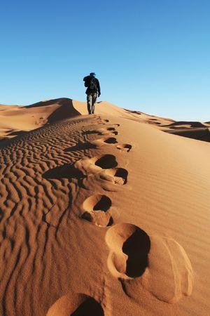 sahara: Sand desert