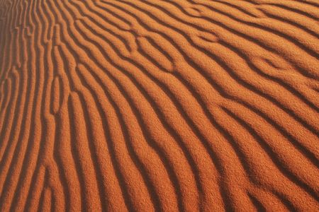 bandy: Texture about sand Stock Photo