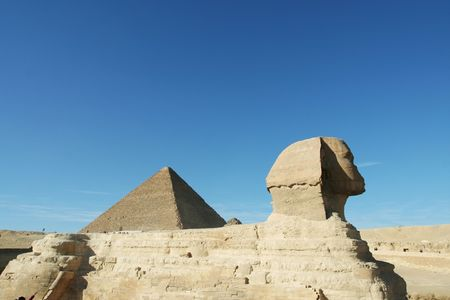 Egyptian sphinx Stock Photo - 2461031