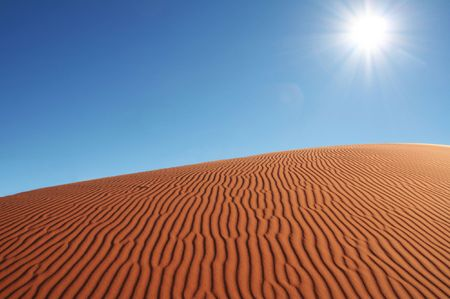 hummock: Deserts dune Stock Photo